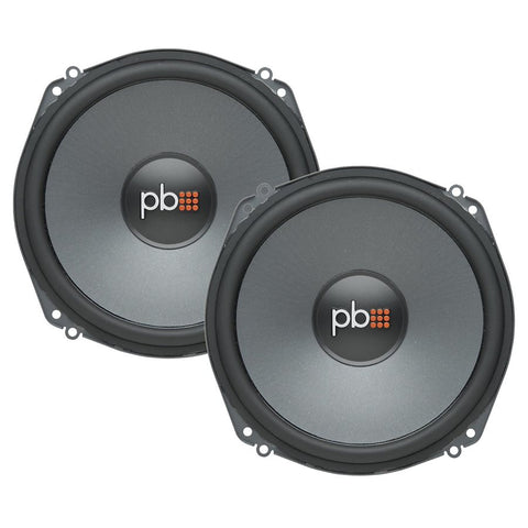 "PowerBass L-2700 7"" 540W 2-Way Full-Range Speakers (pair)"
