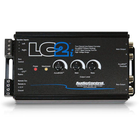 AudioControl LC2I 2 Ch Line Out Converter and Subwoofer Control