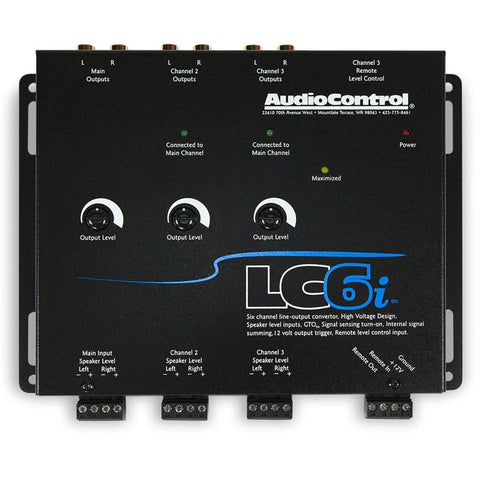 AudioControl LC6I 6 Ch Line Out Converter w / Internal Summing