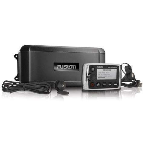Fusion MS-BB300R Marine Black Box with Wired Remote / AM / FM / Sirius