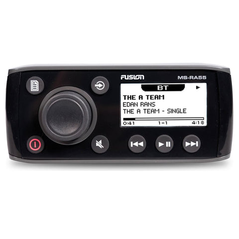Fusion MS-RA55 Marine 4x45W AM / FM Stereo iPod and iPhone BT