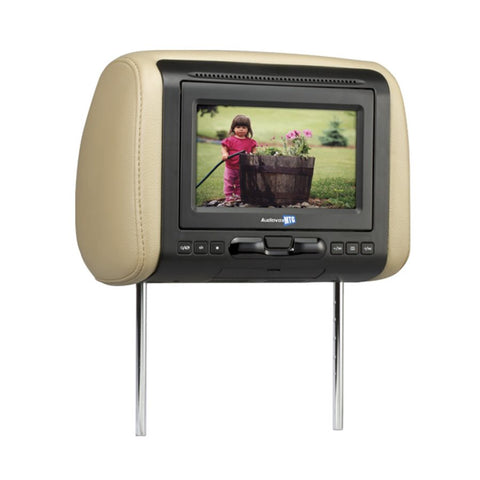 "Movies2Go MTGHRD1 7"" Headrest Monitor with Built-In DVD Player HDMI"