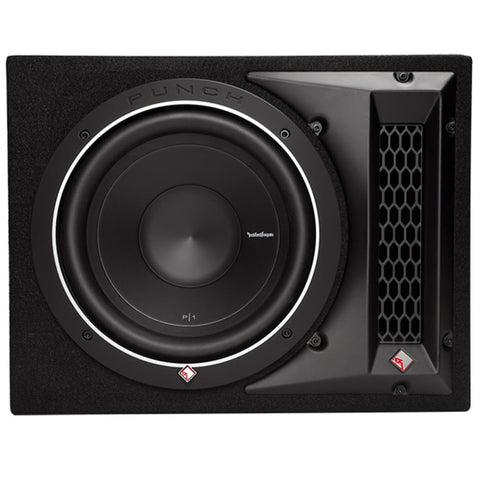 "Rockford Fosgate P1-1X10 Punch P1 Single 10"" Loaded Enclosure"