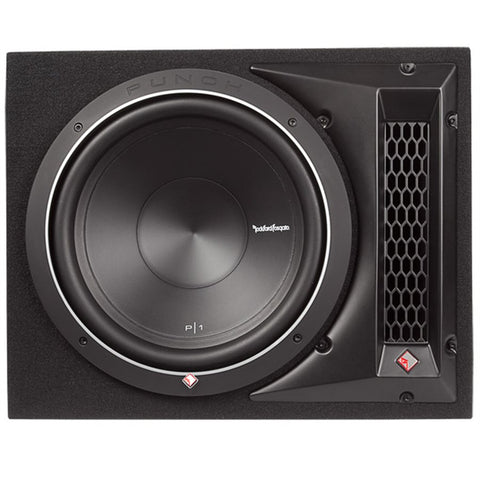 "Rockford Fosgate P1-1X12 Punch P1 Single 12"" Loaded Enclosure"