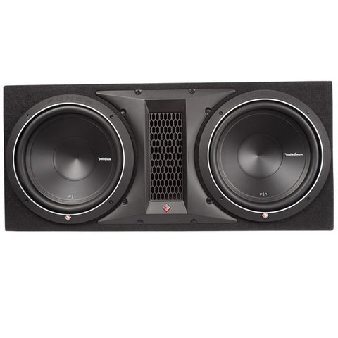"Rockford Fosgate P1-2X12 Punch P1 Dual 12"" Loaded Enclosure"