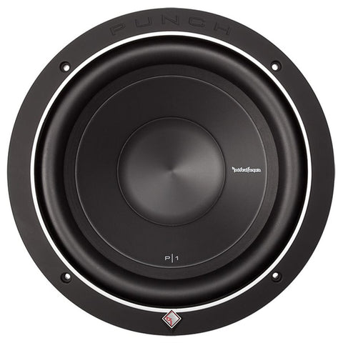 "Rockford Fosgate P1S2-10 Punch P1 10"" 2 Ohm Subwoofer (single)"