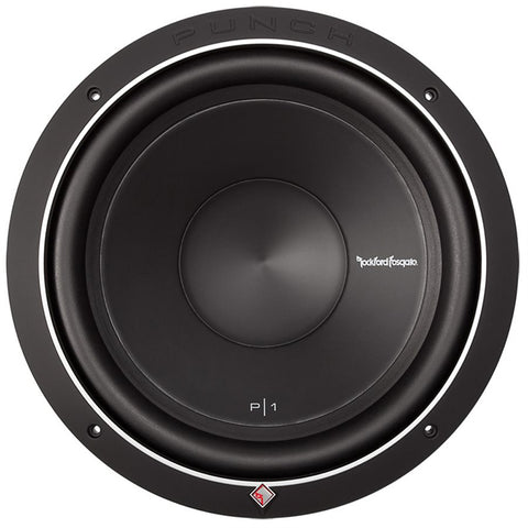 "Rockford Fosgate P1S2-12 Punch P1 12"" 2 Ohm Subwoofer (single)"