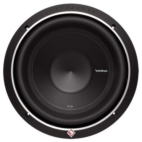 "Rockford Punch P2D4-12 P2 12"" 4 Ohm DVC Subwoofer (single)"