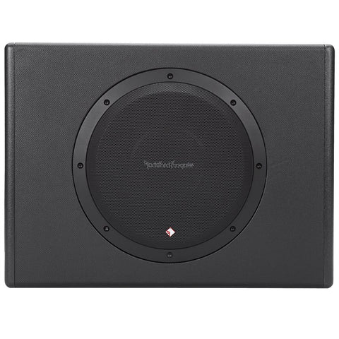 "Rockford Fosgate P300-10 Punch Single 10"" 300W Powered Loaded Enclosure"