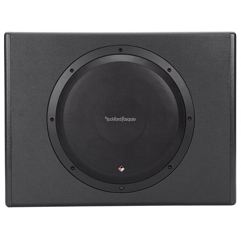 "Rockford Fosgate P300-12 Punch Single 12"" 300W Powered Loaded Enclosure"