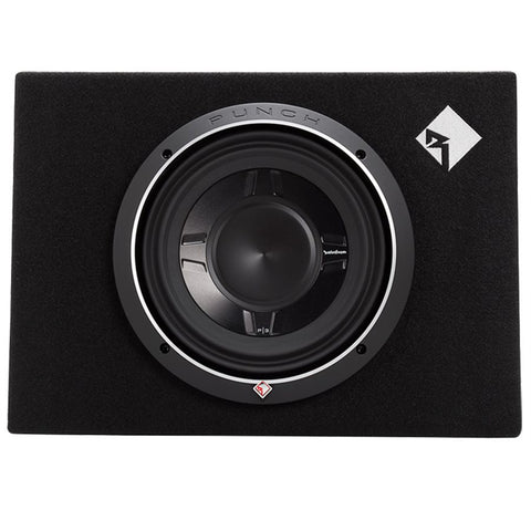 "Rockford Fosgate P3S-1X10 Punch P3 Single 10"" Shallow Loaded Enclosure"