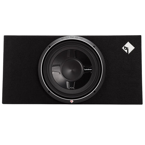 "Rockford Fosgate P3S-1X12 Punch P3 Single 12"" Shallow Loaded Enclosure"