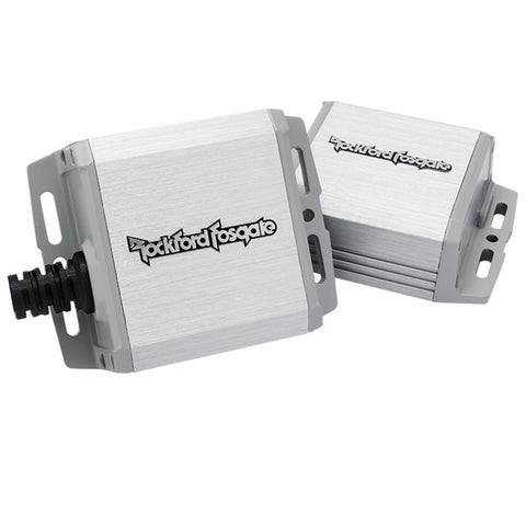 Rockford Fosgate PM100X1K Marine 100 Watt Full-Range Mono Amplifier (pair)