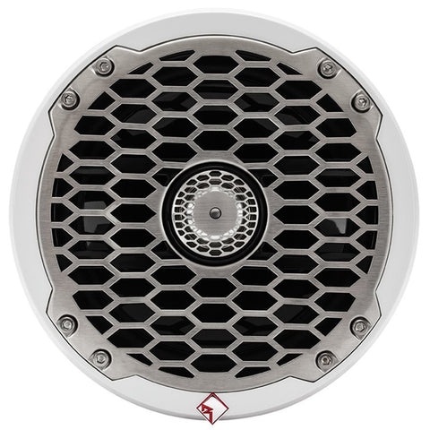 "Rockford Fosgate PM2652 Marine P2 Series 6.5"" Coax Speakers (white, pair)"