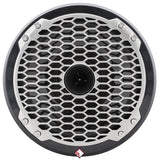 "Rockford Fosgate PM282H-B Marine Punch 8"" Full-Range Speak w / Horn Tweet (blk)"
