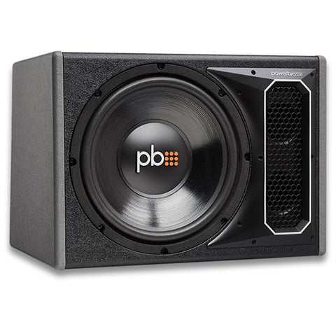 "PowerBass PS-WB121 Single 12"" Loaded Bass Reflex Enclosure"