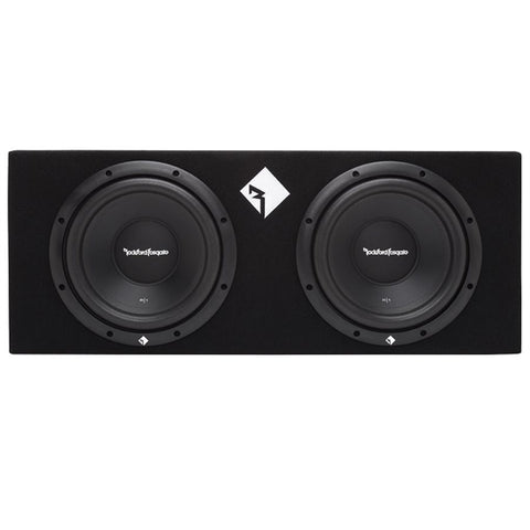 "Rockford Fosgate R1-2X12 Prime R1 Dual 12"" Loaded Enclosure"