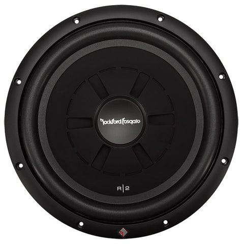 "Rockford Fosgate R2SD2-12 Prime R2 12"" 2 Ohm DVC Shallow Subwoofer (single)"
