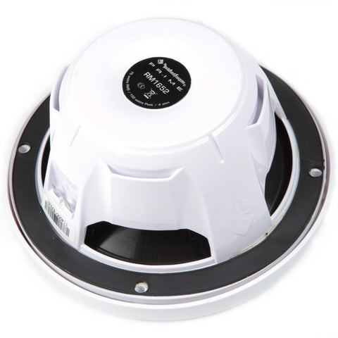 "Rockford Fosgate RM0652 Marine Prime RO 6.5"" 2-Way Speakers (white, pair)"