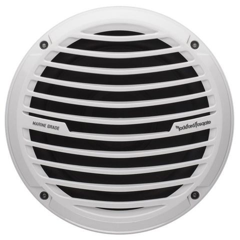 "Rockford Fosgate RM18D4 Marine 8"" Dual 4 Ohm Subwoofer (white, single)"