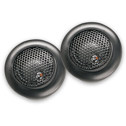 "PowerBass S-1S 1"" Silk Dome Tweeters (pair)"