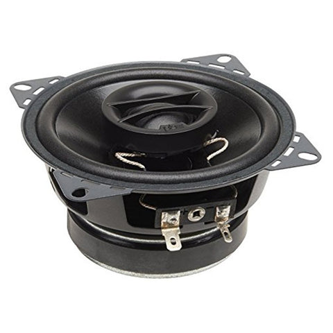 "PowerBass S-4002 4"" 4 Ohm Coaxial Speakers (pair)"