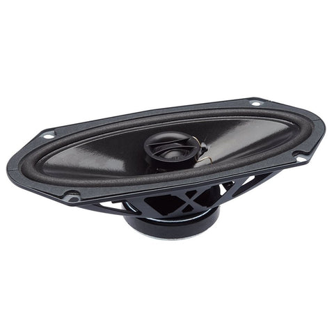 "PowerBass S-4102 4""x10"" OEM Replacement Coaxial Speakers (pair)"