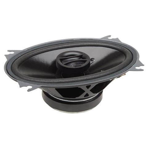 "PowerBass S-4602 4""x6"" OEM Replacement Coaxial Speakers (pair)"