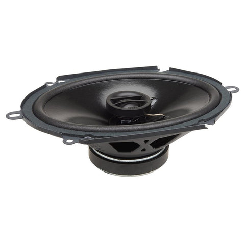 "PowerBass S-6802 6""x8"" OEM Replacement Coaxial Speaker (pair)"