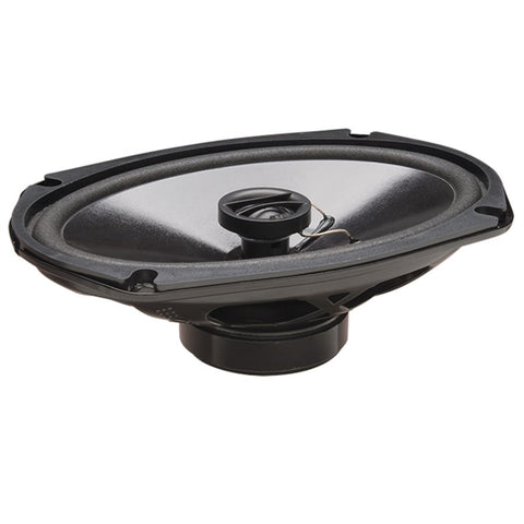 "PowerBass S-6902T 6""x9"" Thin Mount Full-Range Coax Speakers (pair)"