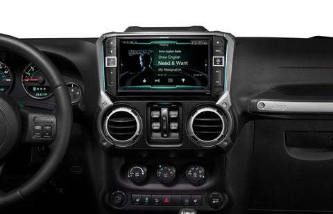 "Alpine X209-WRA-OR CUSTOM-FIT NAVIGATION RECEIVER WITH 9"" SCREEN FOR SELECT 2011-2017 JEEP WRANGLER AND WRANGLER UNLIMTED MODELS"