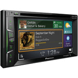 "Pioneer AVH-500EX 6.2"" Double-DIN In-Dash DVD Receiver with Bluetooth® & SiriusXM® Ready"
