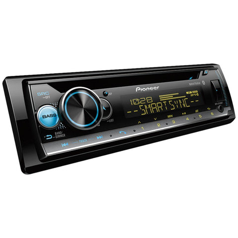 Pioneer DEH-S5100BT Single-DIN In-Dash CD Player with Bluetooth
