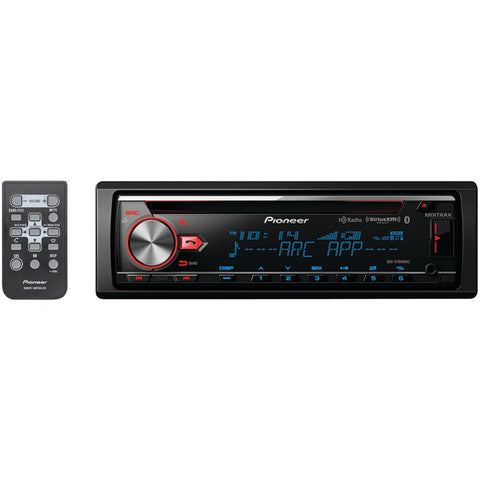 Pioneer DEH-X7800BHS Single-DIN In-Dash CD Receiver with MIXTRAX®, Bluetooth®, HD Radio™ & SiriusXM® Ready