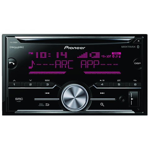 Pioneer FH-S700BS Double-DIN In-Dash CD Receiver with Bluetooth® & SiriusXM® Ready