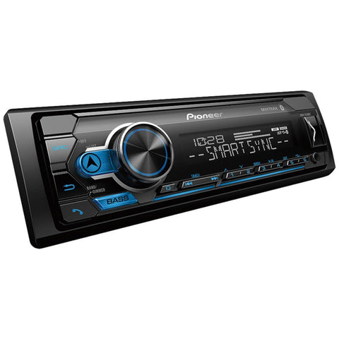 Pioneer MVH-S310BT Single-DIN In-Dash Digital Media Receiver with Bluetooth