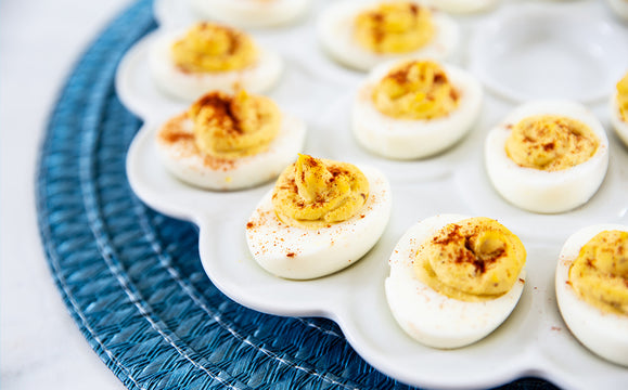 Deviled Eggs with Smoked Paprika