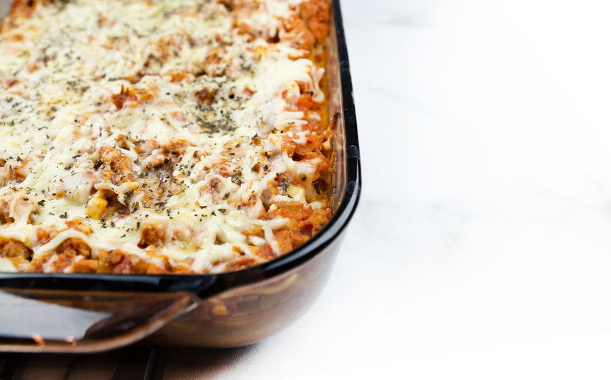 Turkey Lasagna (without ricotta cheese)