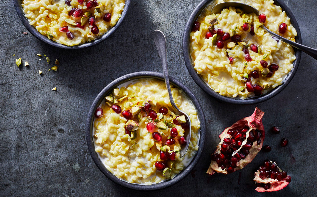 rice pudding recipe using saffron