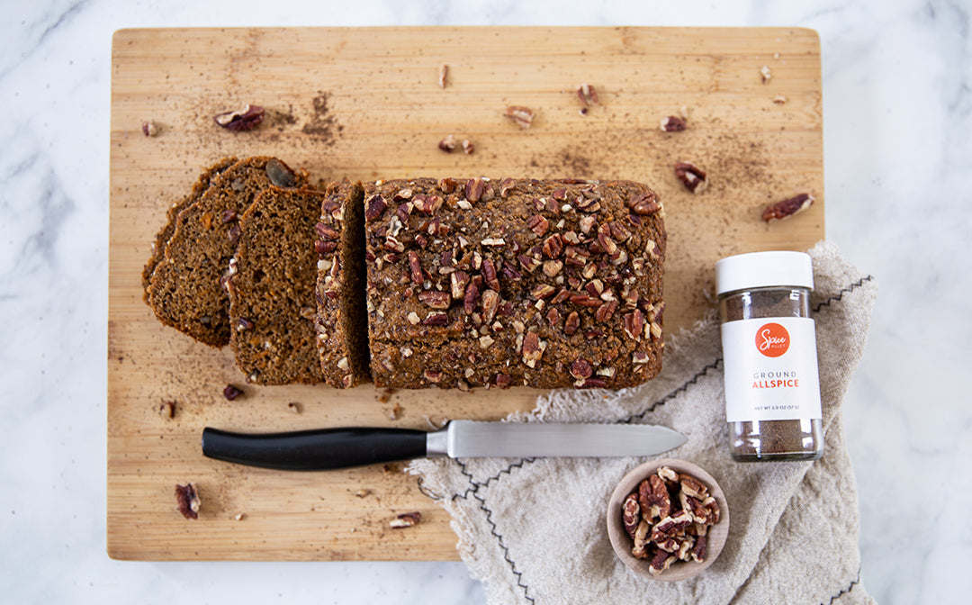 spiced sweet potato bread recipe