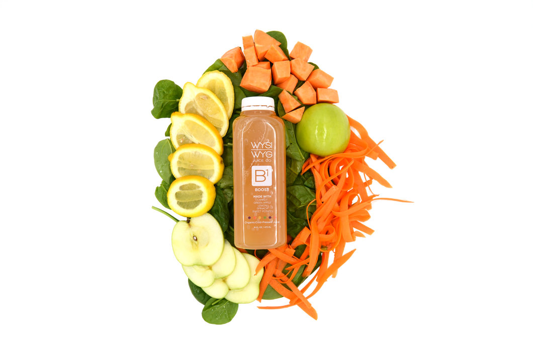 Boost | Cold Pressed Organic Juice