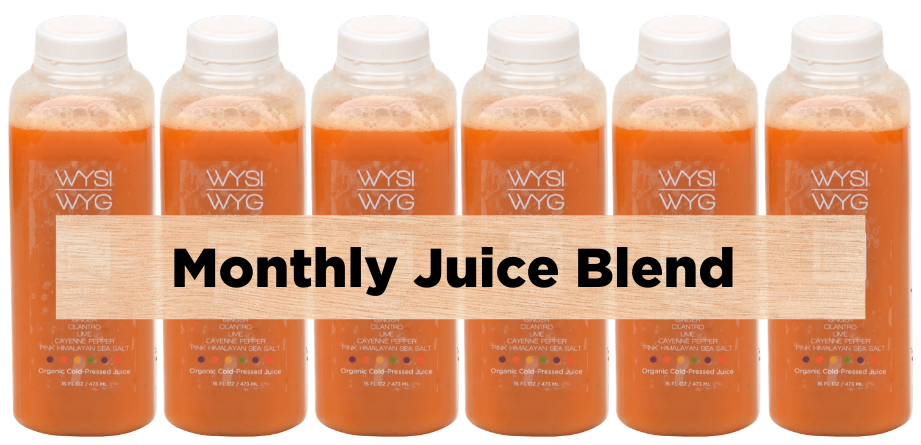 Monthly Blend | Cold Pressed Organic Juice
