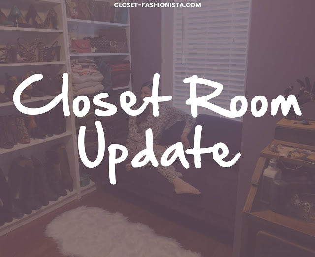 {home} Closet Room Update