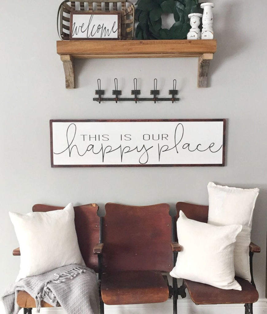 Affordable Living Room Signs
