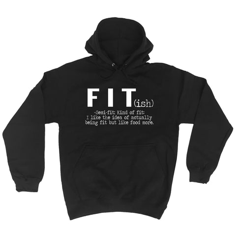 123t Fit Semi Fit I Like The Idea Like Food More Funny Hoodie