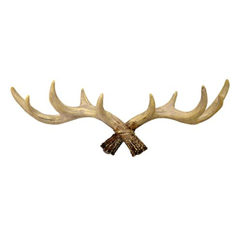 Katoot@ Vintage Deer Antlers Rack Belt Tie Hook Organizer Holder Home Decorative Wall Hat Coat Bag Hanging Hooks Storage Hanger