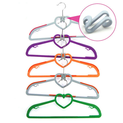 Egoelife 30 Pcs S Shape Space-Saving Clothes Hanger Connector Cascading Hooks Clothes Rack Hook (30)