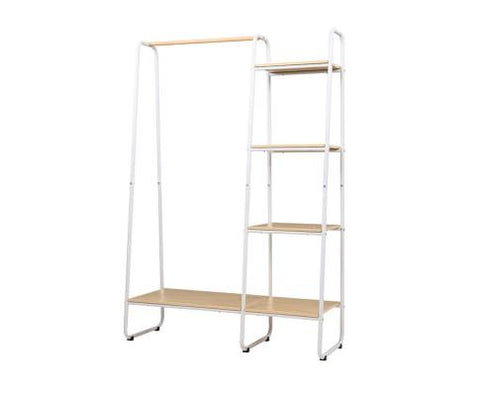 Closet Storage Rack White