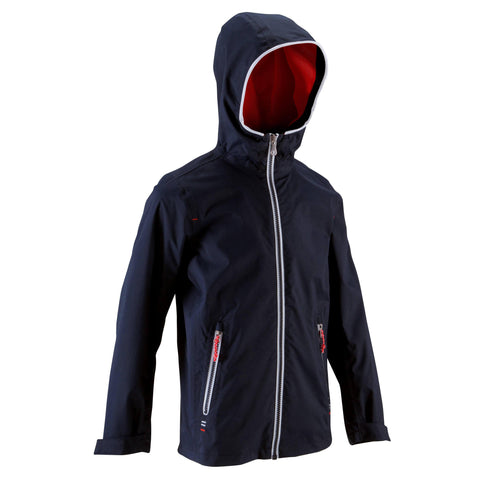 100 Kids Waterproof Sailing Jacket