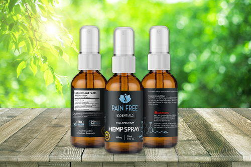 Hemp Extract Sublingual Spray